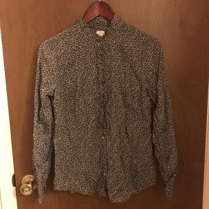 J. Crew The Floral Perfect Shirt